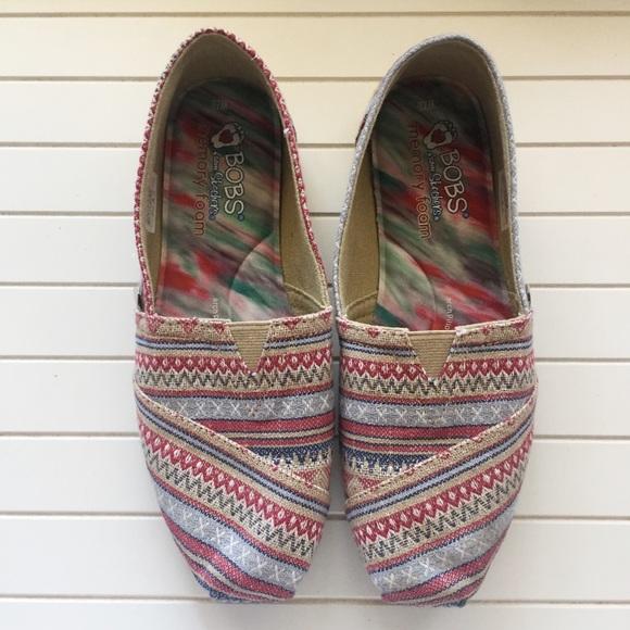d1005e4f1d085 BOBS Skechers Plush Lil Fox Alpargata Shoe Flats